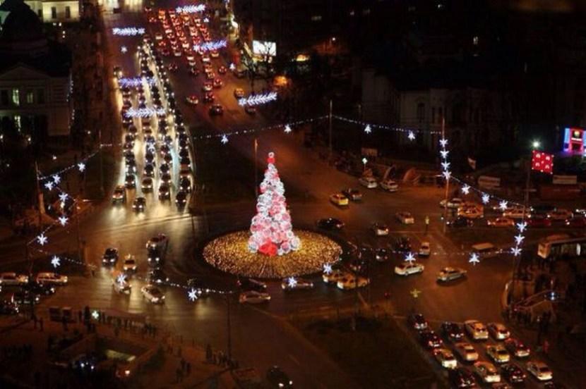 Christmas time in Brasov Romania
