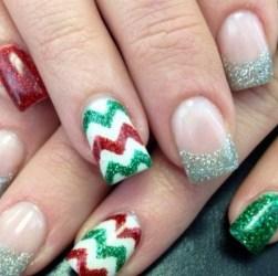 Christmas Acrylic Nails Christmas Photos