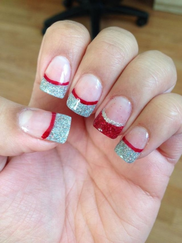 Attractive Acrylic Nail Designs For Christmas Festooning - Nail Art ...
