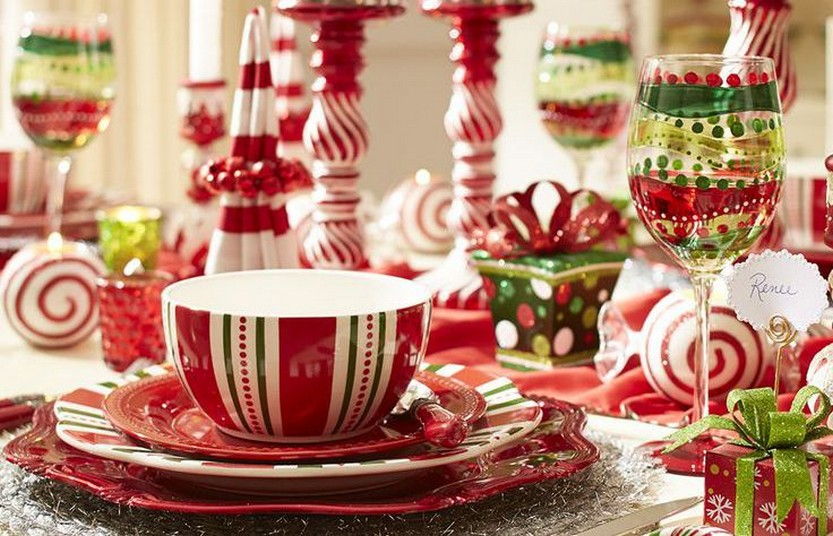 57 Beautiful Christmas Dinnerware Sets & 57 Beautiful Christmas Dinnerware Sets u2013 Christmas Photos