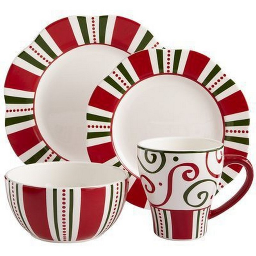 Waechtersbach Christmas Tree Dinnerware