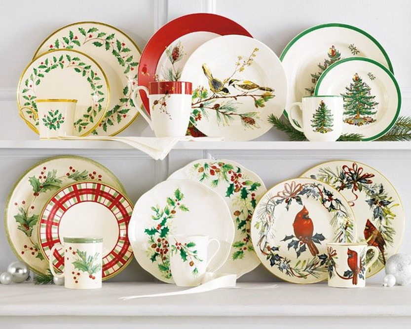 Lenox u0026 Spode Christmas Dinnerware Collections (Belk) & 57 Beautiful Christmas Dinnerware Sets u2013 Christmas Photos