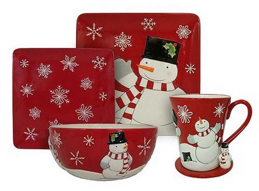 Snowman Christmas dinnerware sets Christmas dish sets holiday dinnerware sets holiday plates  sc 1 st  Christmas Photos & 57 Beautiful Christmas Dinnerware Sets \u2013 Christmas Photos