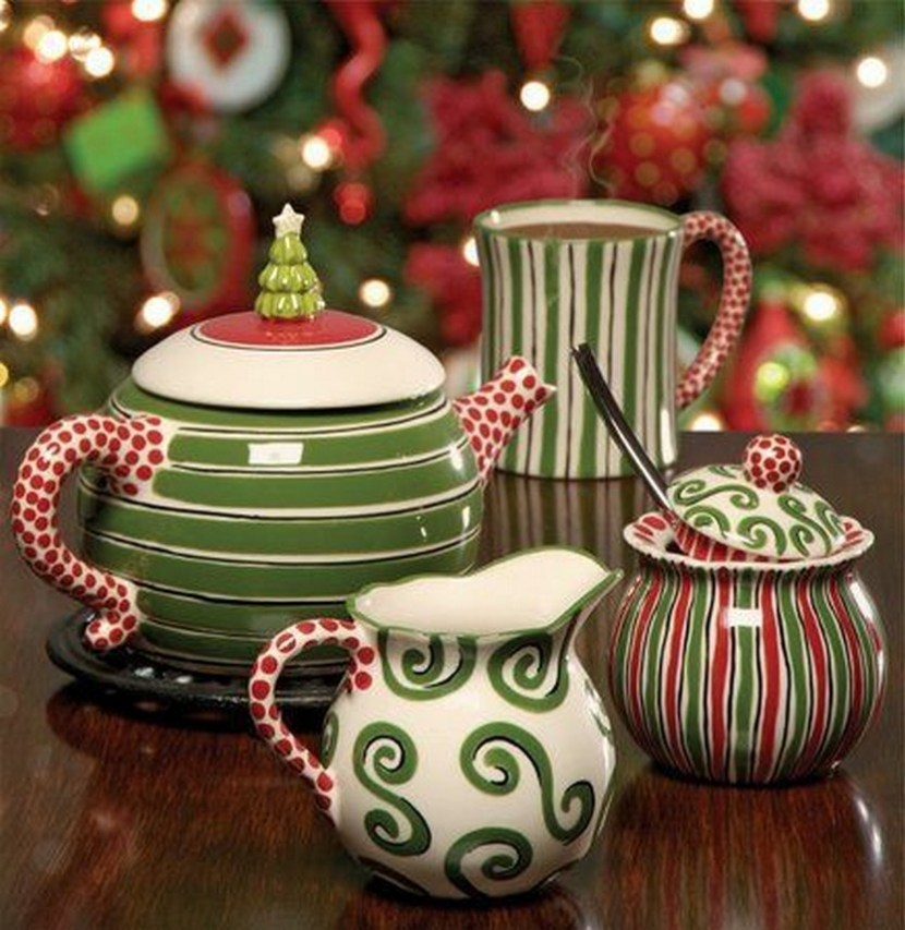 Good Christmas Dinner Ware #1: 57-Beautiful-Christmas-Dinnerware-Sets-6.jpg?resize=830%2C853