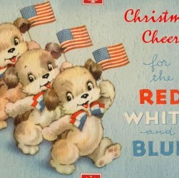 57 beautiful patriotic Christmas cards