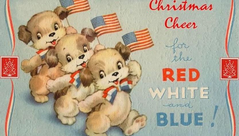57 beautiful patriotic Christmas cards