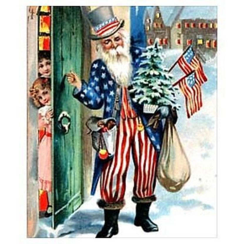 Victorian Antique Christmas – Uncle Sam Santa