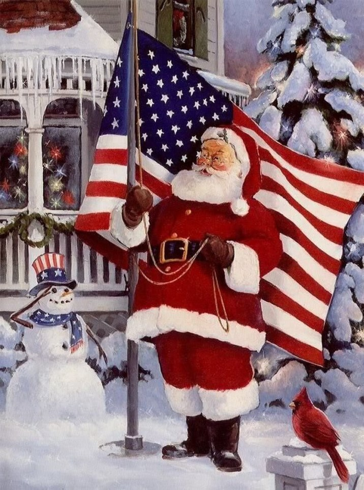 We make a lot of gifs here, especially all the holidays and birthday card gifs. 57 beautiful patriotic Christmas cards - Christmas Photos