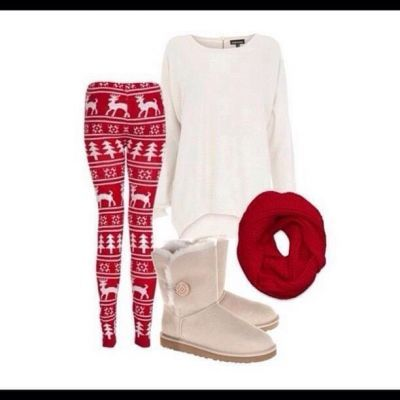 Christmas chillin' outfit