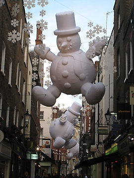 Christmas in Carnaby Street, London