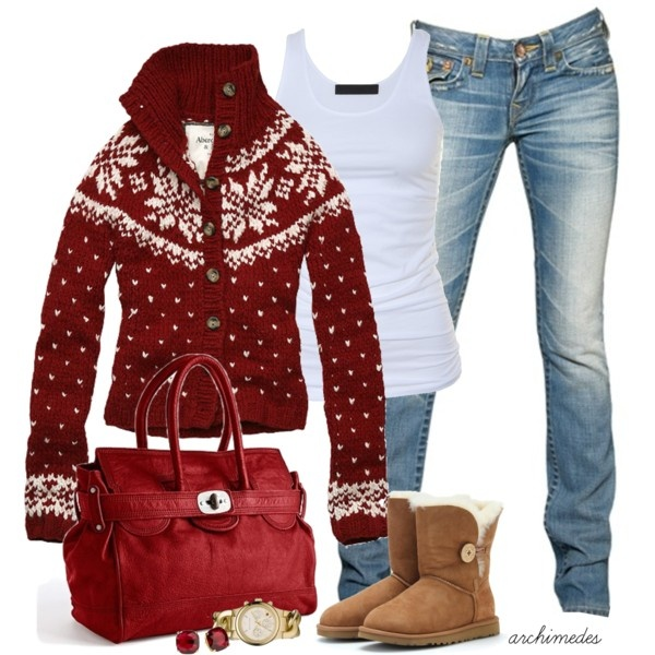 Cute Winter Outfit – Christmas Fun