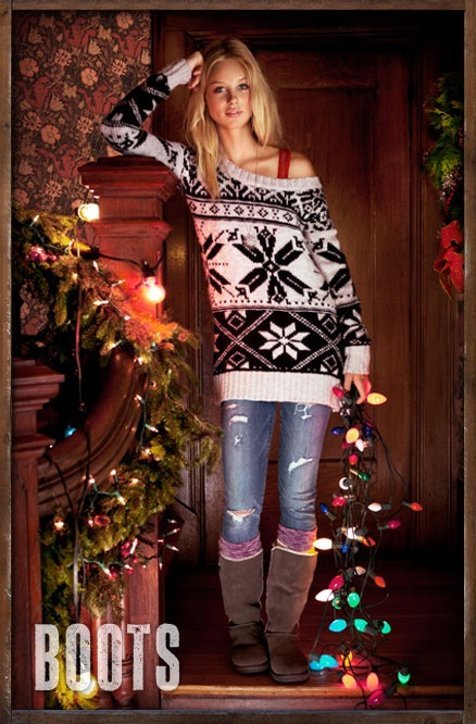Cute casual Christmas outfit