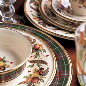Lenox Holiday Tartan Dinnerware