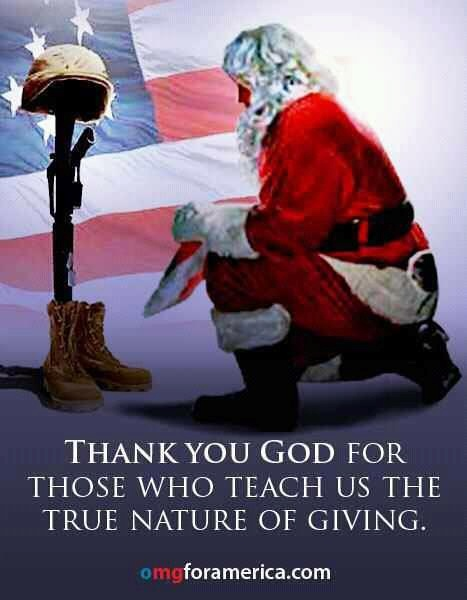 Remembering those who gave all, and the families that are missing them this Christmas