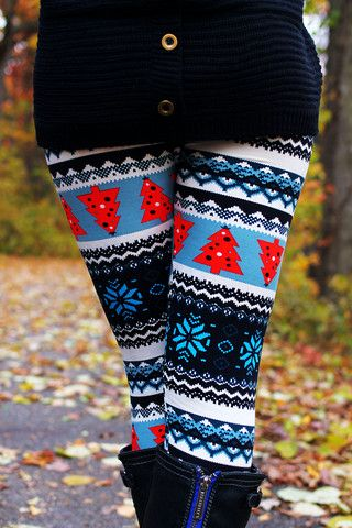 These look fun for a Christmas holiday outfit, might wear with a dress or long shirt