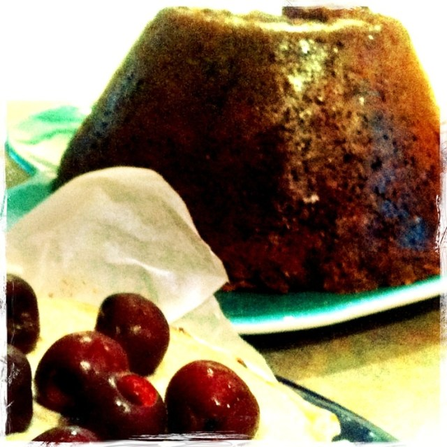 Traditional Christmas Pudding – but at any other time of year can be called 'Fruit Pudding' – tastes just like the Christmas Pudding we know and love but without the grain, dairy or sugar