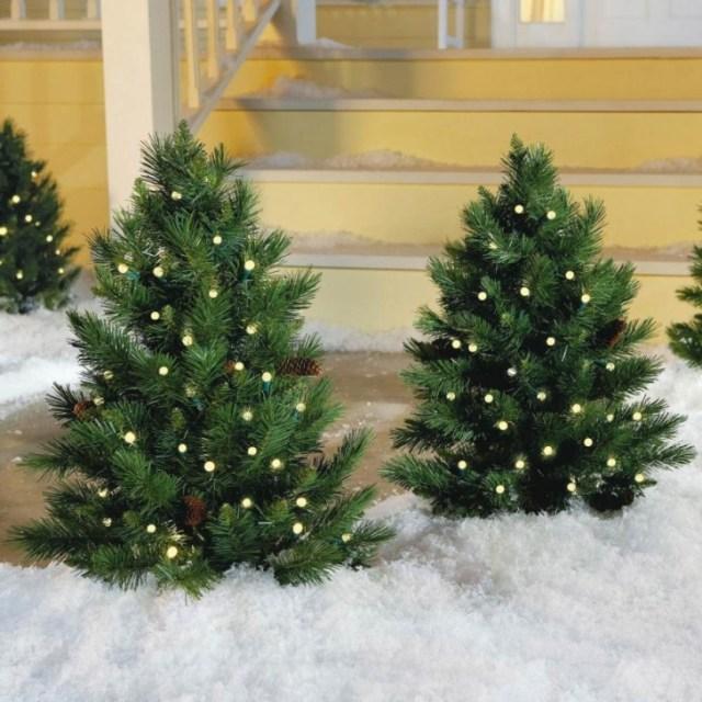 Diy Outdoor Christmas Decorations Inspiration Decor