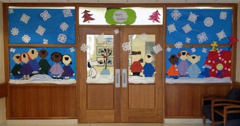 Door Decorations For Christmas Unique Design