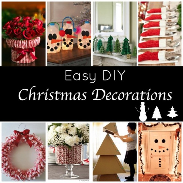 Romantic Design Easy Christmas Decorations