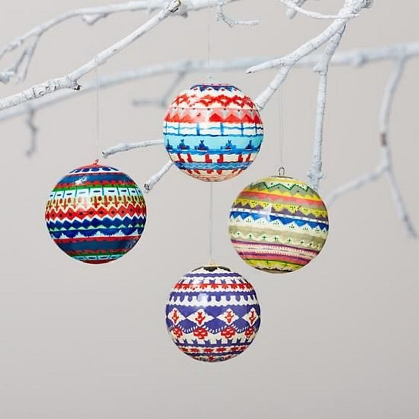 DIY Christmas globes