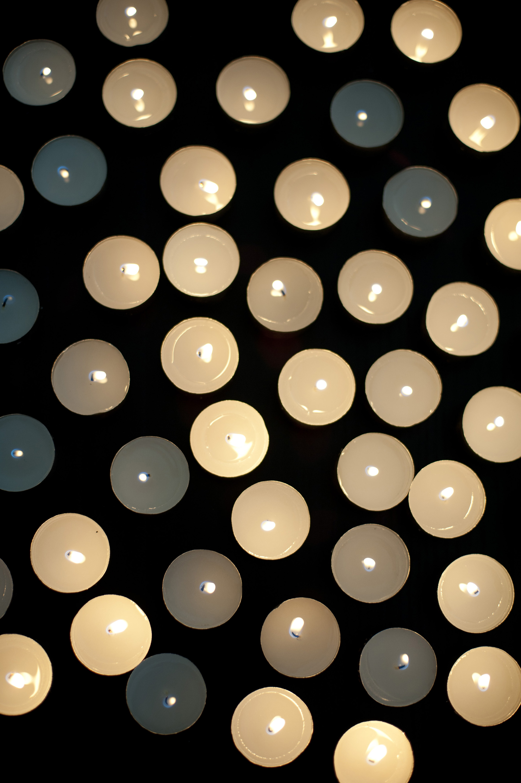Photo Of Multiple Burning Candles Free Christmas Images