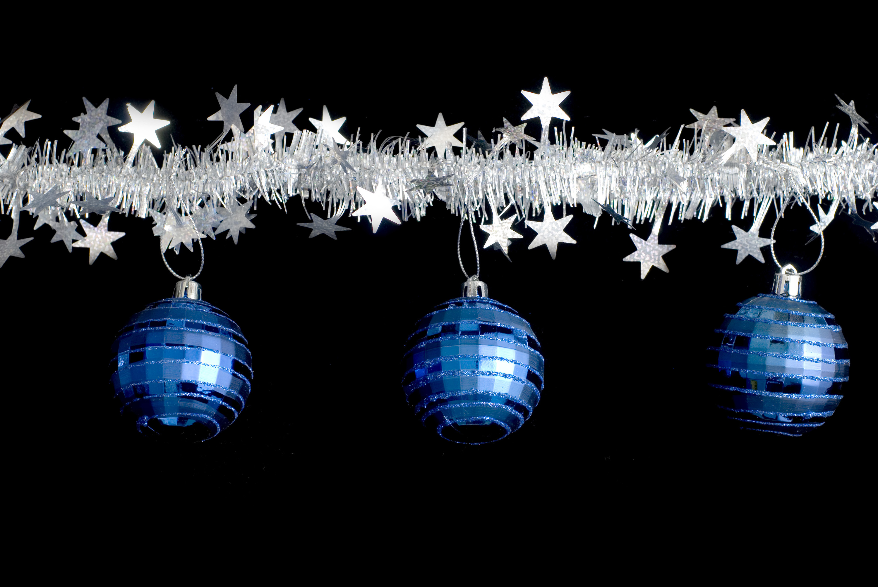 Photo Of Tinsel And Baubles Free Christmas Images