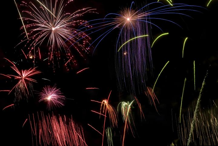 Photo Of Firework Montage Free Christmas Images