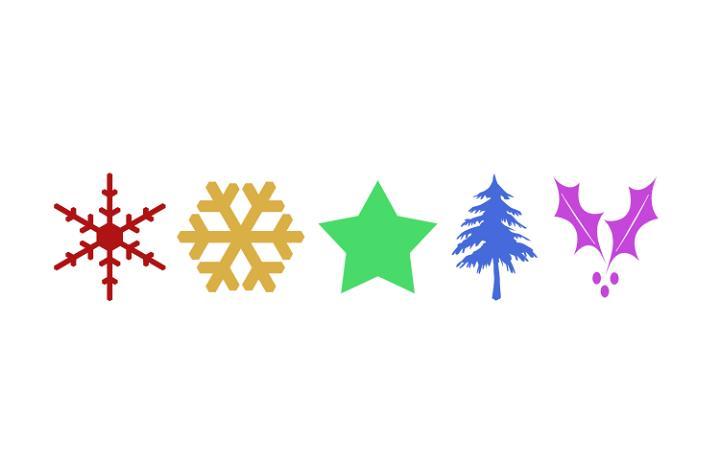 Art Snowflake Free Clip And Christmas Tree