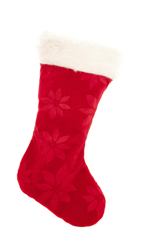 Photo Of Isolated Festive Red Christmas Stocking Free
