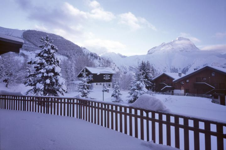 Photo Of Alpine Snow Scene Free Christmas Images