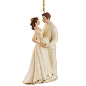 Bride and Groom First Ornament