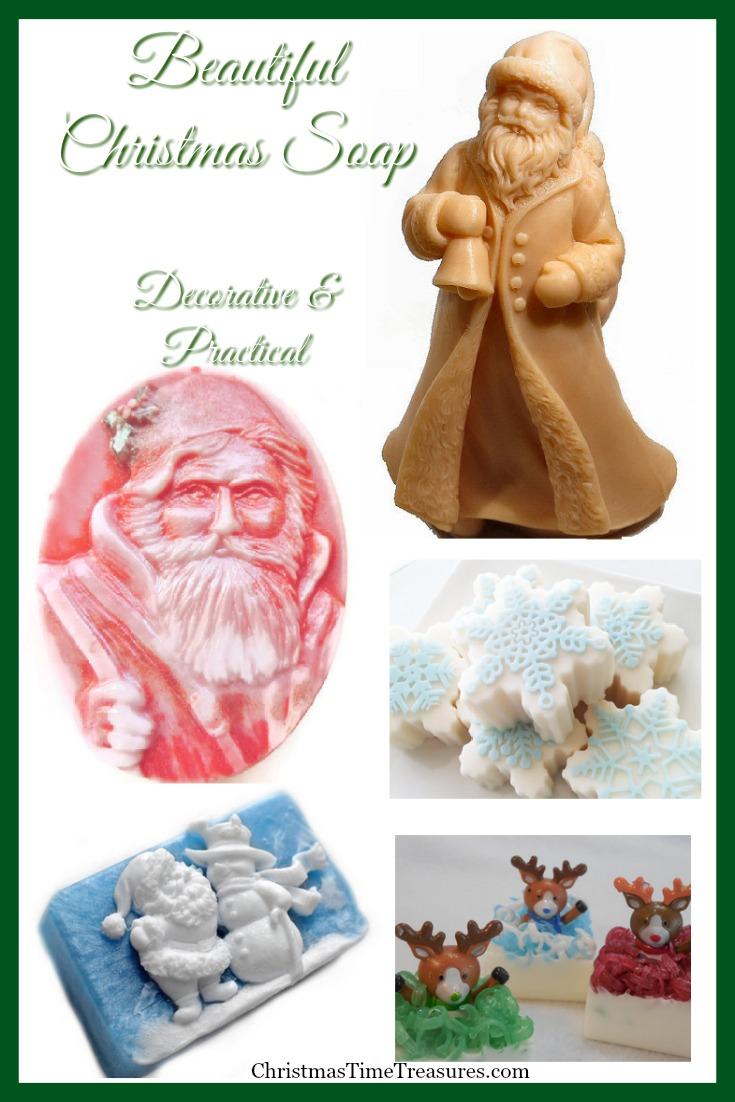 Decorative & Practical Christmas Soaps