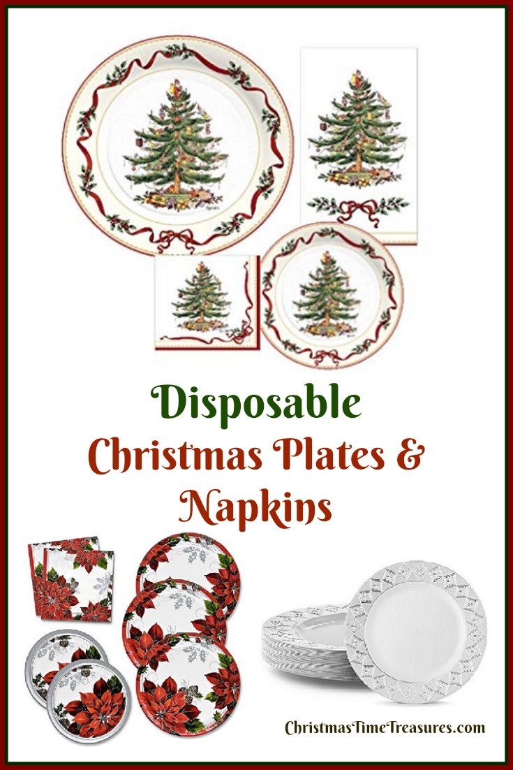 Disposable Holiday Plates