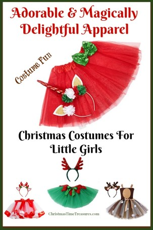 Christmas costumes for girls