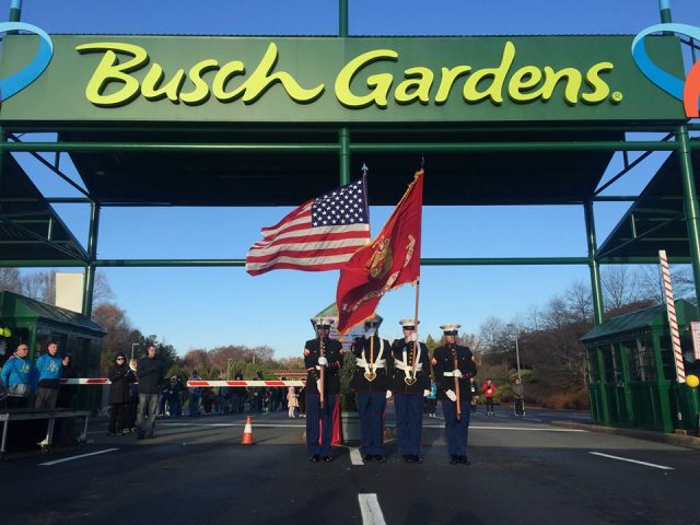 Christmas Town Dash 8k Run Through Busch Gardens Christmastown
