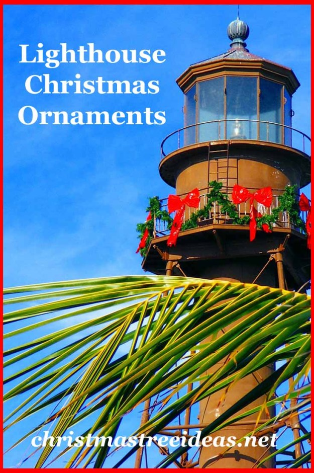 Lighthouse Christmas Ornaments