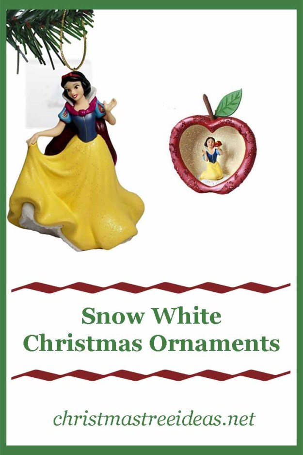 Snow White Christmas Ornaments