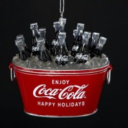 coca-cola christmas ornaments