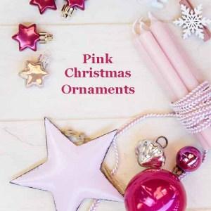 Pink Christmas Ornaments
