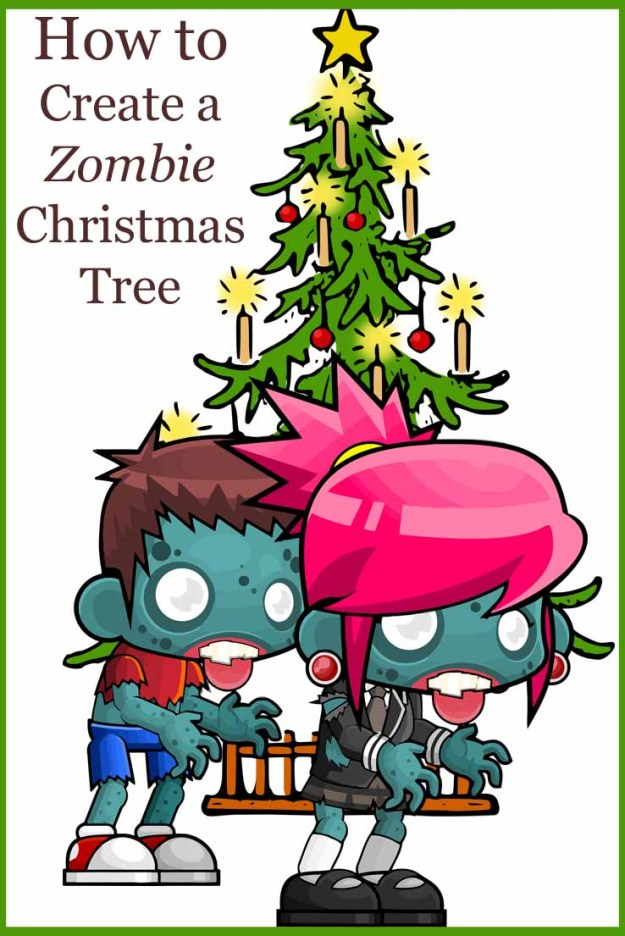 How to Create a Zombie Christmas Tree