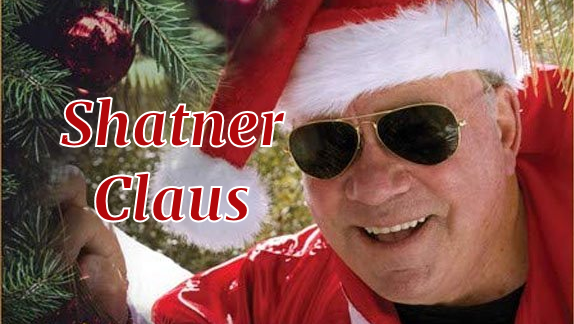 Shatner Claus Coming to Christmas Music