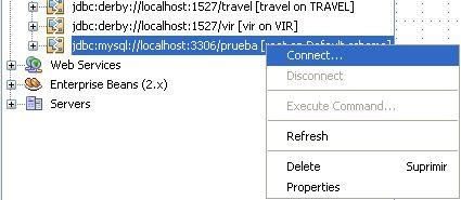 """Como crear un """"Pool de Conexiones"""" en NetBeans 6.0 usando Java Server Faces (JSF) y MySQL (6/6)"""