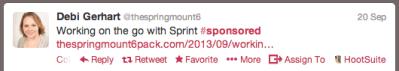 Properly Disclosed Tweet