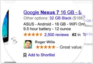 Google Endorsements Product