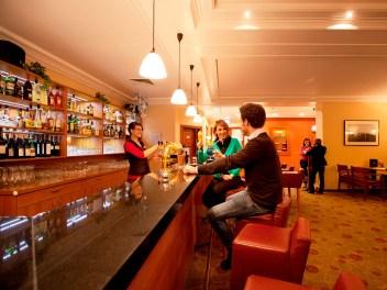 Bar im Hotel in Oberwiesenthal