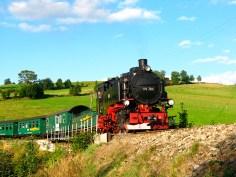 Fichtelbergbahn im Erzgebirge