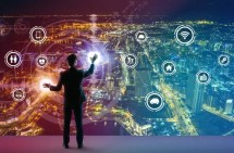 Kunde steuert alles online im digitalen Geschäftsmodell