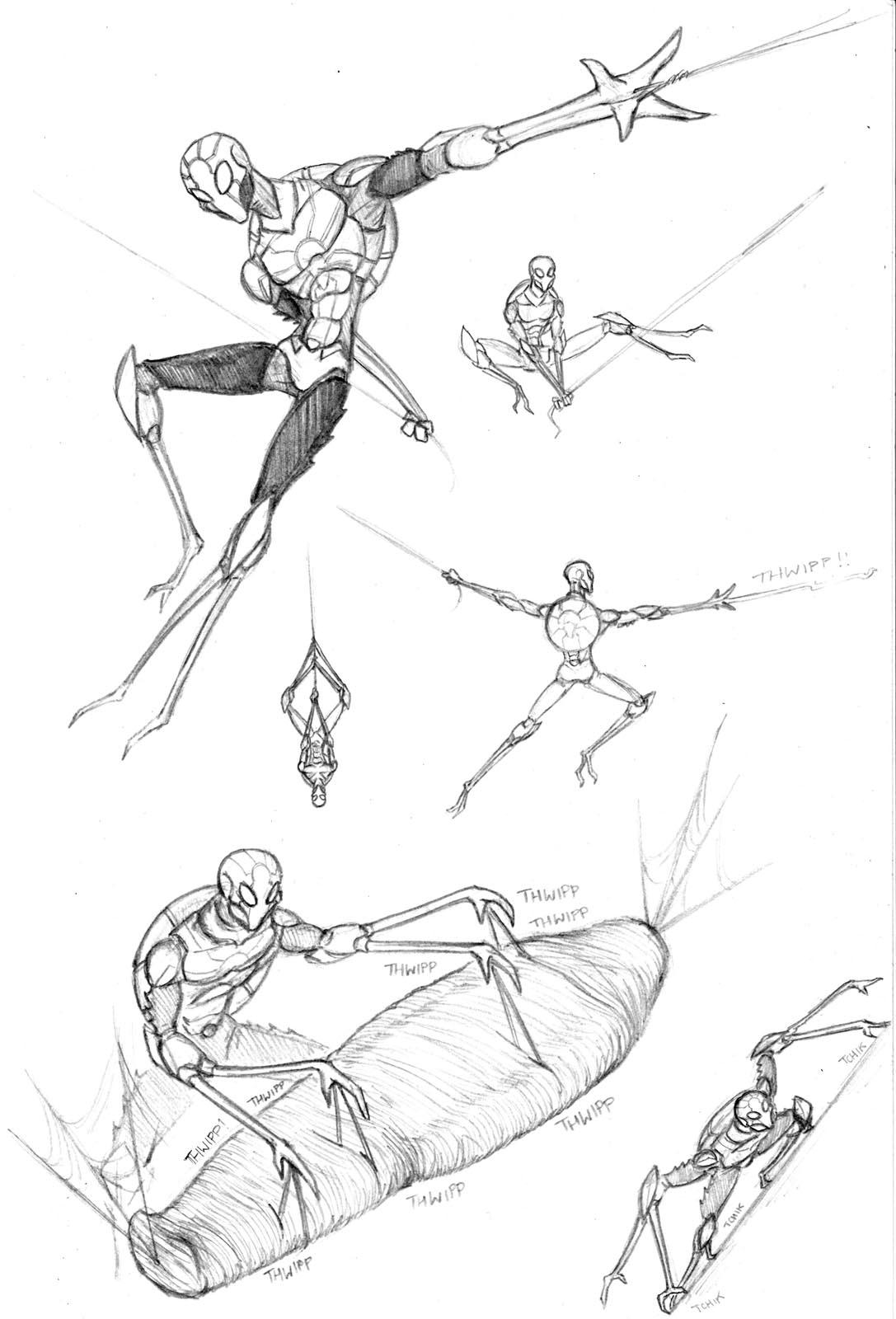 Spider Man Redesign