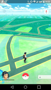 Navigation in Pokemon Go