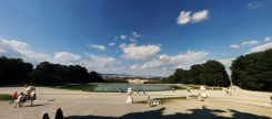 Panorama View of Schönbrunn from the Gloriette